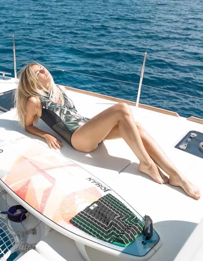 Sunshine rövid ujjú wetsuit női Picture style2