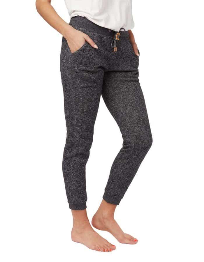 Bamone női szabadidő nadrág biopamutból és újrahasznosított poliészterből-1 - Tentree