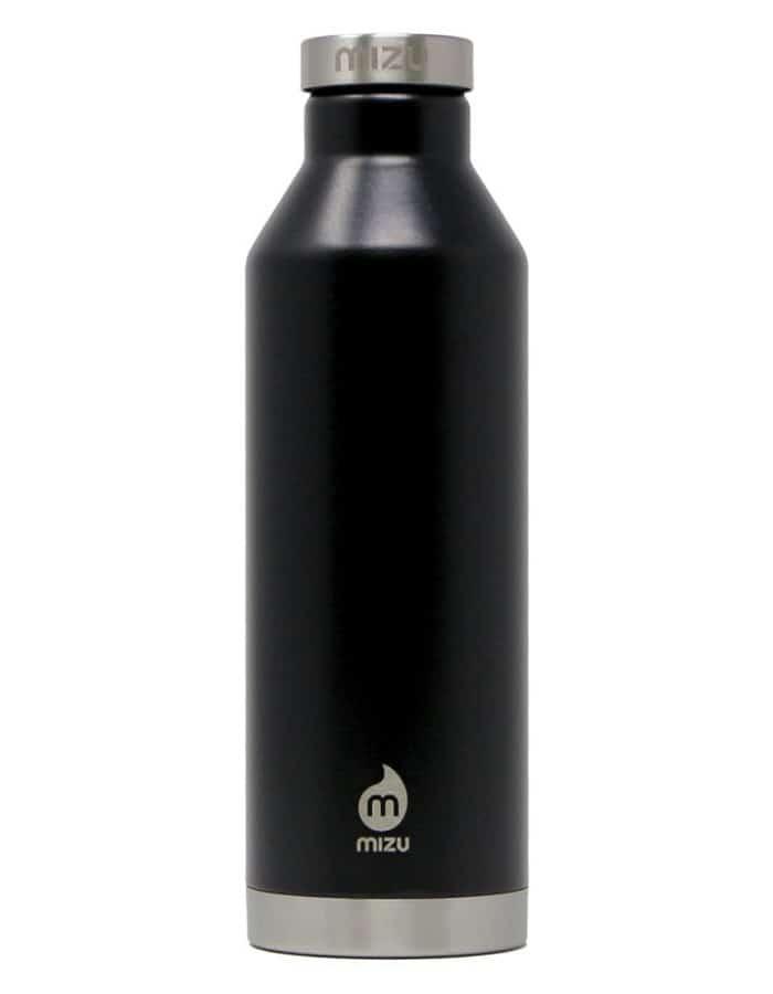 Mizu-V8 rozsdamentes acél termosz fekete