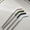 Mizu fém szívószál szett - színes 1