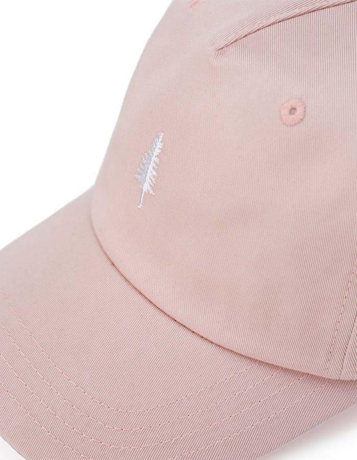 Peak fenyőfás rózsaszín sapka zoom - Tentree
