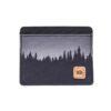 Redbud kártyatartó pénztárca fenyőfás RFID blokkolós előröl