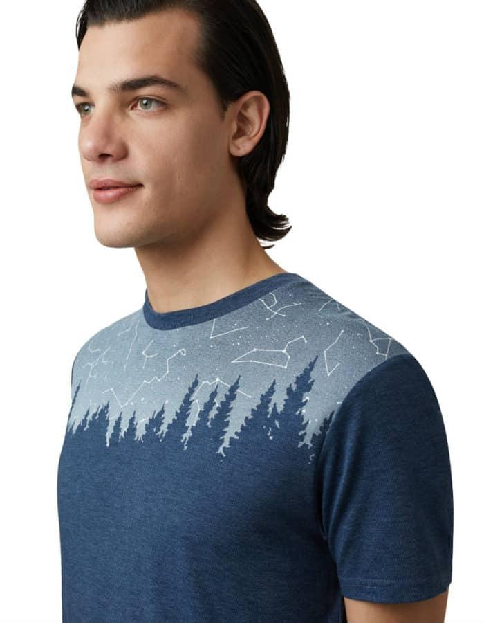 Constellation férfi póló közelről
