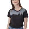 Juniper Classic női póló fekete TenTree modell