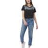 Juniper Classic női póló fekete TenTree modell teljesalak