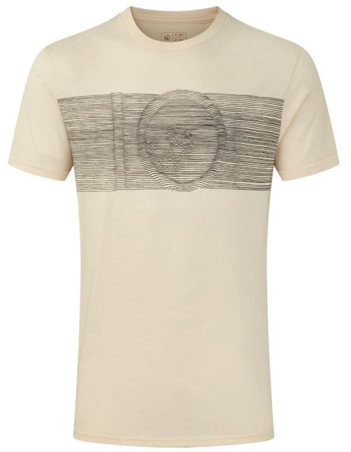 Topographic férfi póló - termékfotó modell nélkül