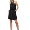 TenTree Cypress fekete női ruha Tencel modell2 távoli