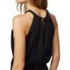 TenTree Cypress fekete női ruha Tencel modell2 hátulról