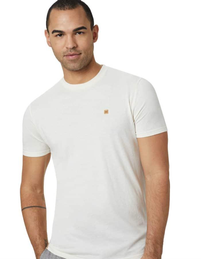 Classic TreeBlend póló törtfehér színben