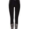 Hyperdry printed női leggings hátulról újrahasznosított - Oneill Blue