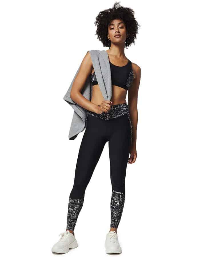 Hyperdry printed női leggings újrahasznosított - Oneill Blue - Álló modell