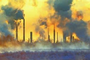 Füstölő kémények, környezetszennyezés