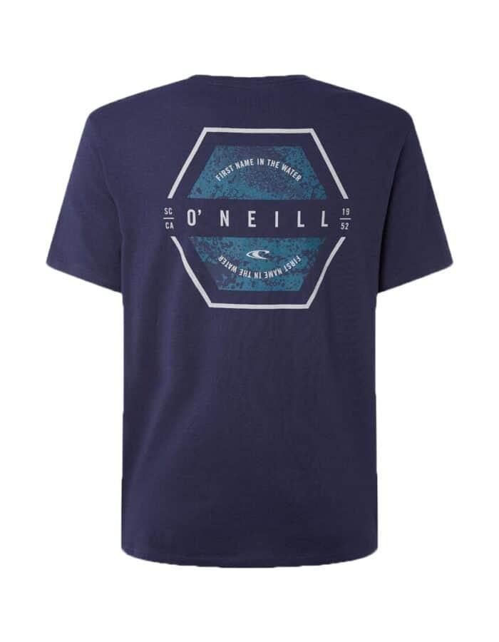 O'Neill Phil férfi póló sötétkék, hátulról