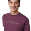 TenTree SoundWave férfi póló modell közeli 2