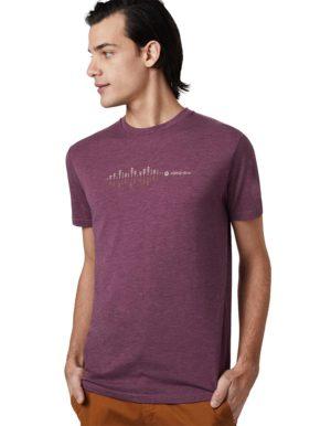 Soundwave férfi póló – Tentree