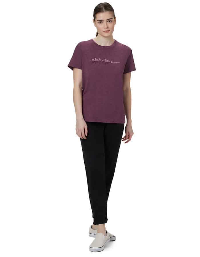 TenTree Spondwave BF női biopamut póló modell full