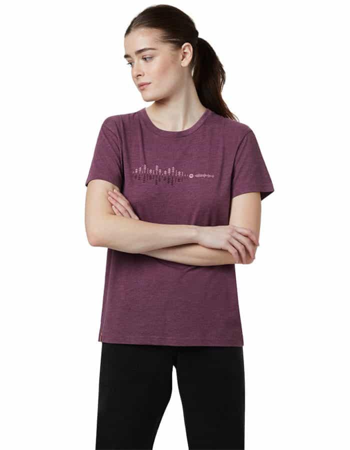 TenTree Spondwave BF női biopamut póló modell