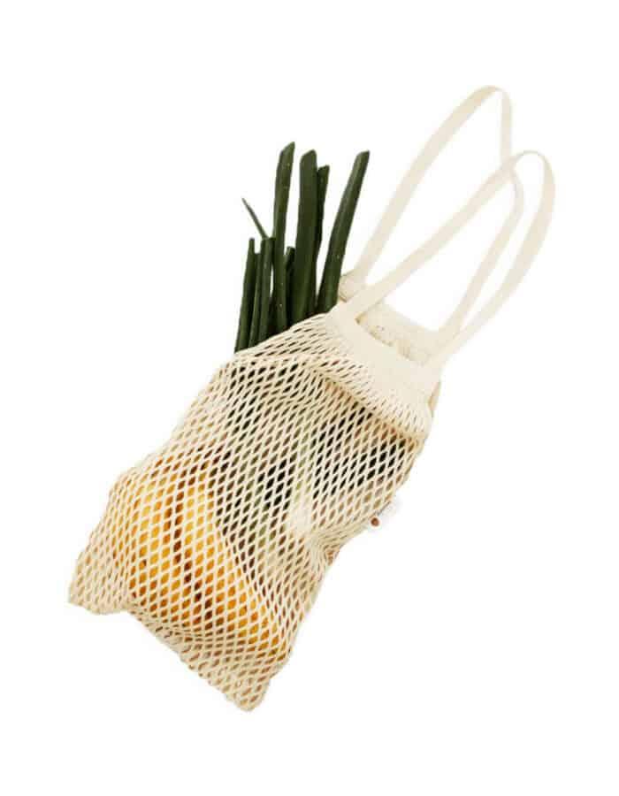 URBANCEKKER vállpánttal 2 - hálós bevásárló szatyor zerowaste bevásárláshoz