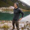 TenTree Boulder vékony kapucnis pulcsi fekete style oldelról