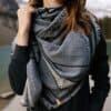 Cottong Geo Blanket biopamut sál style 2