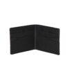 Tentree újrahasznosított pénztárca fekete nyitva üres