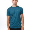 TenTree Treeblend Classic férfi póló zöldeskék színben