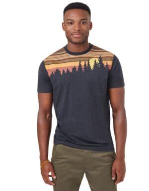Retro Juniper férfi póló – Tentree