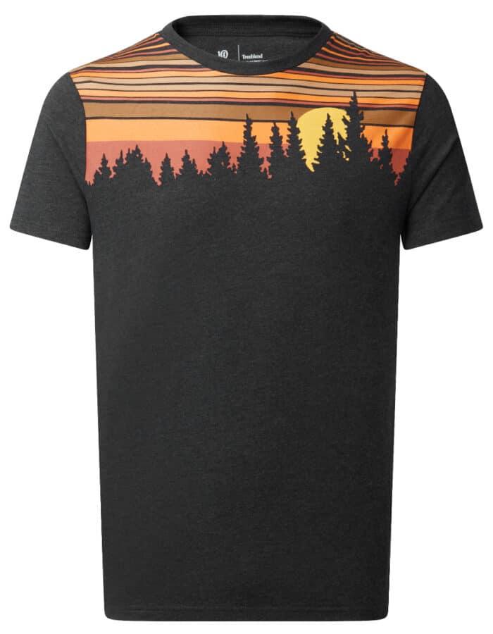 Retro Juniper férfi póló termék fotó
