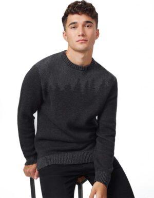 TenTree Highline Juniper biopamut pulóver férfi előröl 2