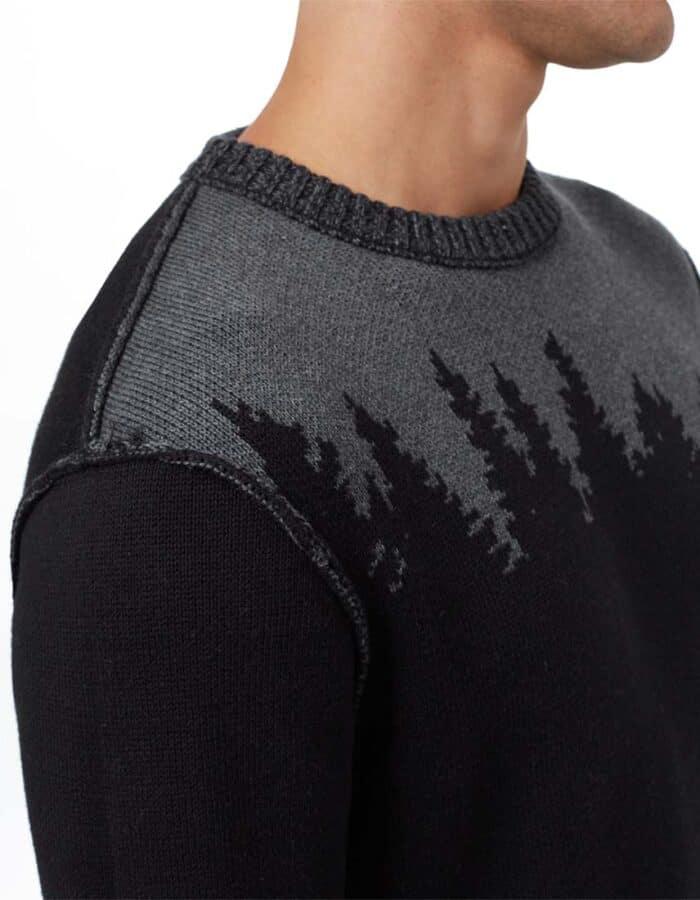 TenTree Highline Juniper biopamut pulóver férfi oldelról