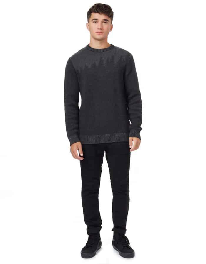 TenTree Highline Juniper biopamut pulóver férfi teljes