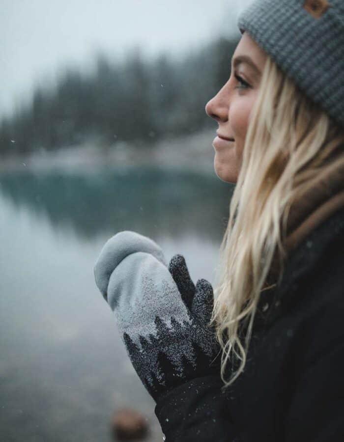 Juniper egyujjas kesztyű - uhisex kesztyű a hideg napokra