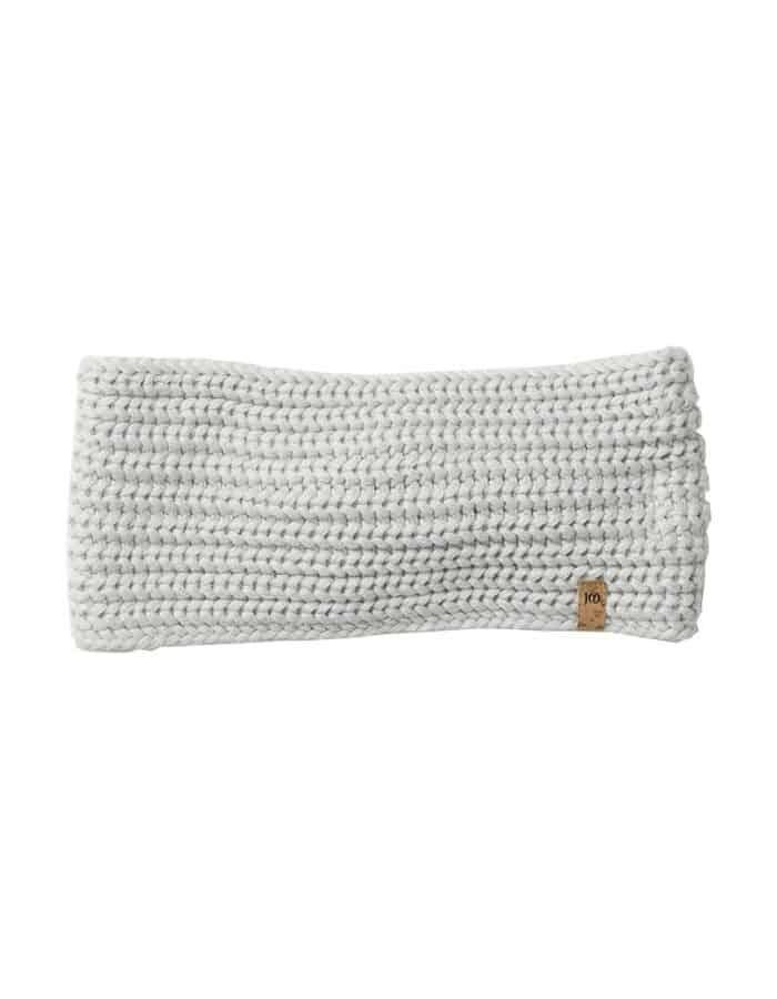 Tentree organikus pamut kötött női fülpánt fehér hátulról