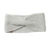 Tentree organikus pamut kötött női fülpánt fehér előröl