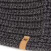 Tentree biopamut kötött női fejpánt fekete részlet