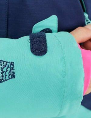 Apply 2.0 női síkabát kék részelt