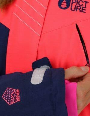 Apply 2.0 női síkabát rózsaszín részlet3
