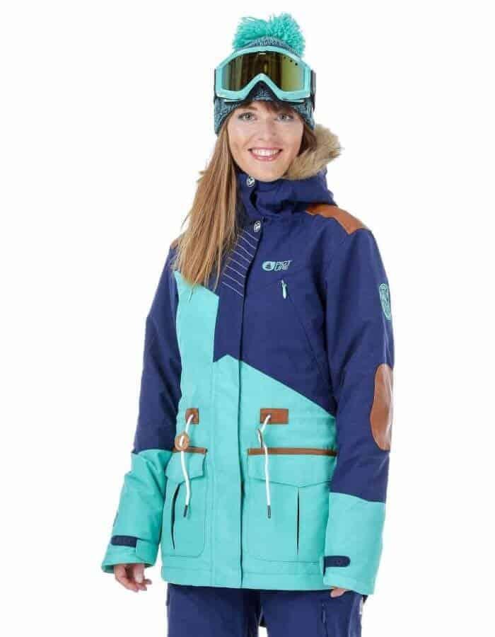 Apply 2 női síkabát | Színes Picture kabát EcoWear