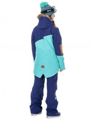 Apply 2.0 női síkabát kék szett hátulról
