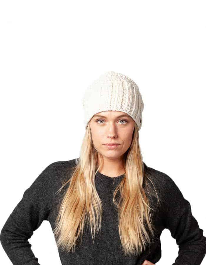 Barts Tamara téli sapka fehér_modell1