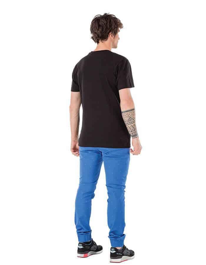 Basement east biopamut férfi póló hátulról - Picture Organic Clothing