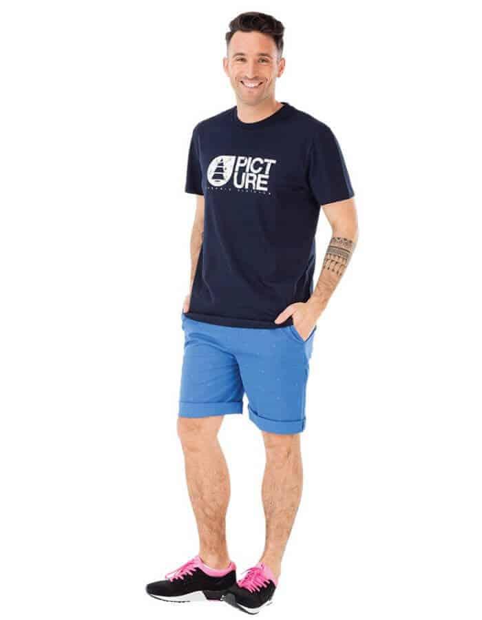 Basement surfer biopamut férfi póló full - Picture Organic Clothing