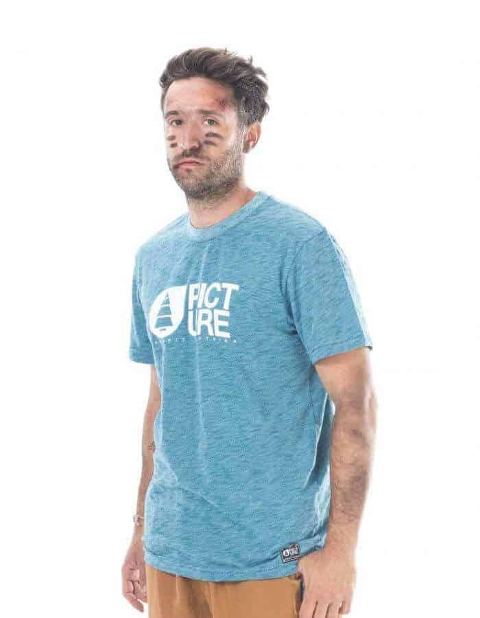 Picture Organic Clothing - Basemebt póló kék