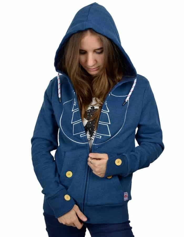 Basica női pulóver - Dóri1