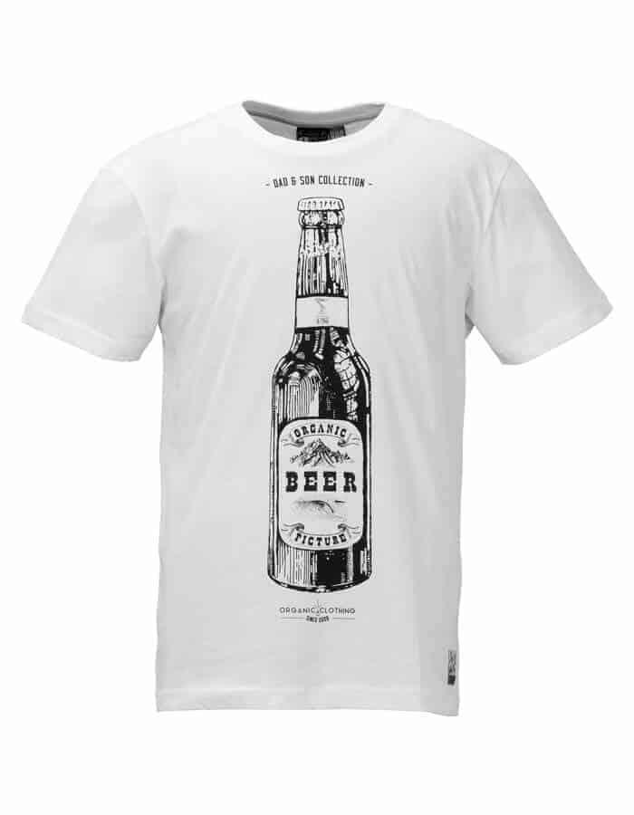 Beer can biopamut férfi póló magában