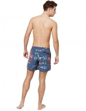 Blurred lila O'neill blue férfi fürdonadrág hátulról