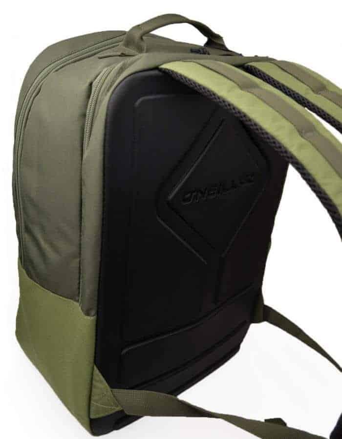 Boarder plus O'Neill újrahasznosított poliészter hátizsák oldalról