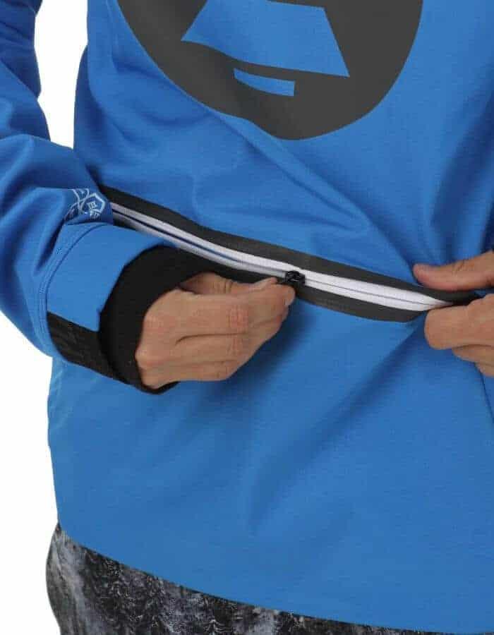 Brandson férfi softshell pulóver kék részlet 2