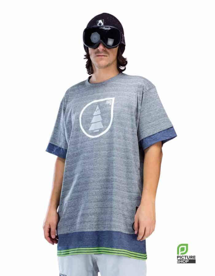 Collet szürke férfi póló modellen