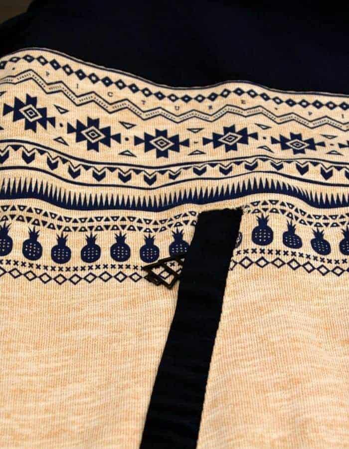 Chambers férfi pulóver azték minta